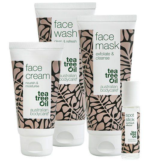 Dybderensende ansigtsmaske fra Australian Bodycare