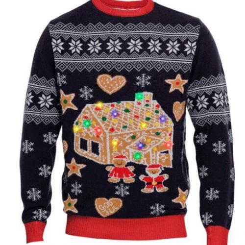 Blinkende julesweater