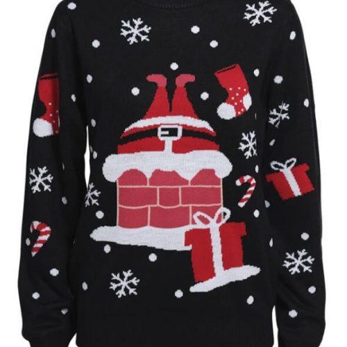 juletrøje med julemanden
