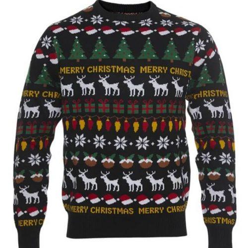 grøn julesweater til børn